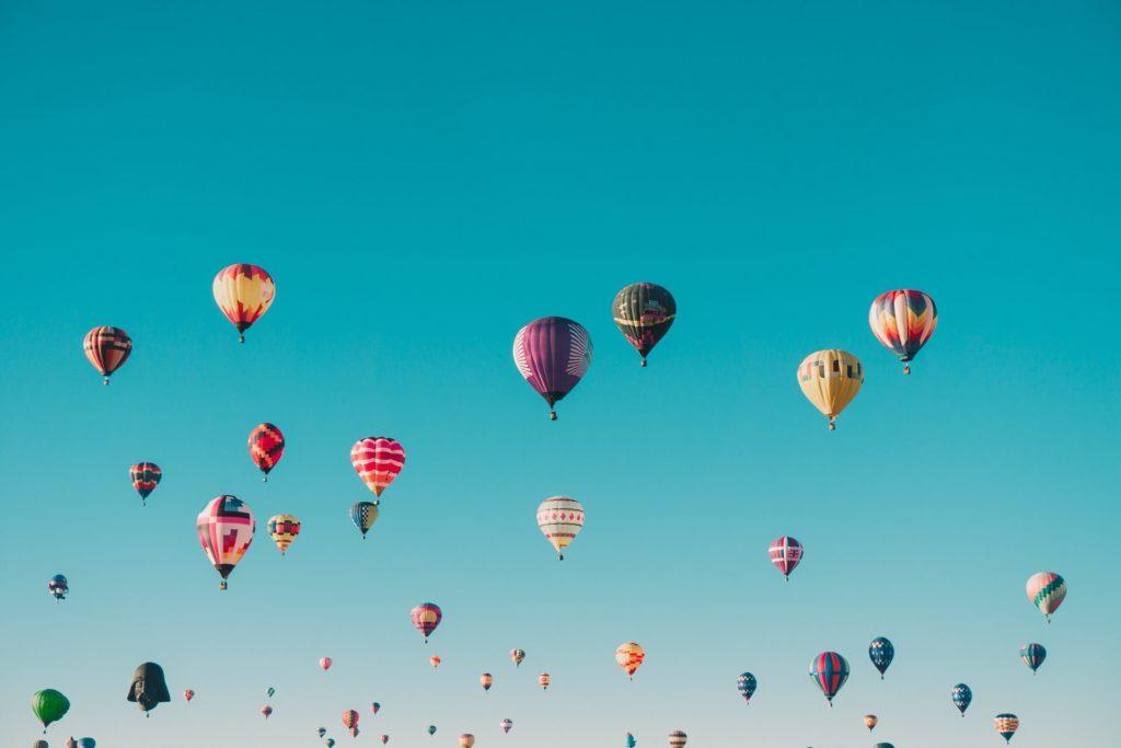 Energy Coaching Hot Air Balloons
